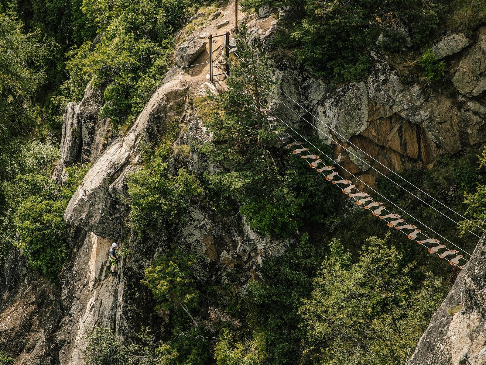 Klettersteig Meran